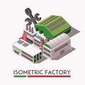 Factory Isometric Set