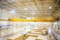 Factory overhead crane Royalty Free Stock Photo