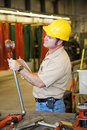 Factory Safety Inspection Royalty Free Stock Photos