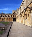 Faculdade da igreja de Christ, Oxford, Inglaterra. Foto de Stock Royalty Free