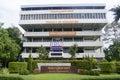 Faculty of Humanities in Ramkhamhaeng University Royalty Free Stock Photo