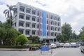 Faculty of Law in Ramkhamhaeng University Royalty Free Stock Photo