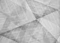 Faded white and gray background, angles lines and diagonal shape pattern design in monochrome black and white color scheme Royalty Free Stock Photo