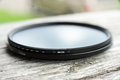 Fader lens for camera Royalty Free Stock Photo