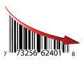 Fail bar code Stock Photo
