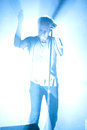 The faint todd fink of performs live at first avenue in minneapolis on july Stock Images