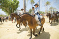 Fair of Jerez Royalty Free Stock Photo