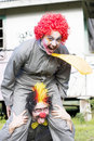 Faire le clown autour Photos libres de droits