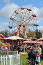 Fairground. Royalty Free Stock Image