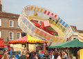Fairground blur Stock Photography