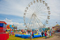 Fairground at Traction Engine Rally Royalty Free Stock Photography