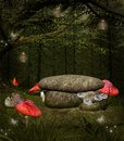 Fairies place midsummer night s dream series Stock Photo