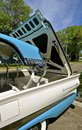 1956 Fairlane Ford 500 Retractible hardtop convertible Royalty Free Stock Photo
