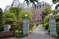 Fairmont Empress Hotel Victoria Canada Royalty Free Stock Images