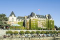 The fairmont empress hotel victoria canada is located at inner harbour of british columbia capital city Royalty Free Stock Photography