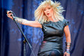 Fairports cropredy convention toyah is an annual festival of folk and rock music held on the edge of the village of in Royalty Free Stock Images