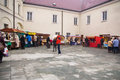 Fairs of christmas beskydy museum in frýdek místek an organization organizes sunday december to p m hours traditional fair at Stock Images