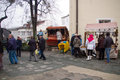 Fairs of christmas beskydy museum in frýdek místek an organization organizes sunday december to p m hours traditional fair at Stock Photo