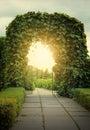 земля двери fairy к Стоковая Фотография RF