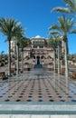 Fairy arabian palace Royalty Free Stock Photo