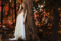 Fairy bride Royalty Free Stock Photo