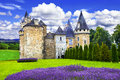 Fairy castles of France Royalty Free Stock Photo