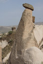 Fairy chimneys and balancing rocks of devrent valley in cappadocia turkey Stock Photography