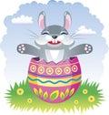 Fairy Easter rabbit Royalty Free Stock Photos