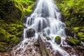 Fairy falls in Columbia River Gorge, Oregon