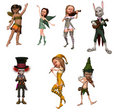 Fairy figurines Royalty Free Stock Photo