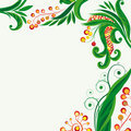 Fairy floral background Royalty Free Stock Photo
