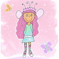 Fairy Girl - 1 Stock Photography