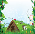Fairy house Royalty Free Stock Image