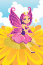 Fairy princess Stock Photos