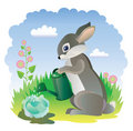 Fairy rabbit Stock Photos