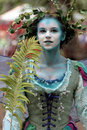 Fairy at Renaissance Faire Stock Images