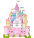 Fairy tale castle magic princess Royalty Free Stock Images