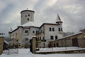 Fairy tale castle in winter, Budatin, Slovakia