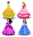 Fairy tale doll princesses Royalty Free Stock Photo