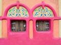 Fairy-tale house facade Royalty Free Stock Photo