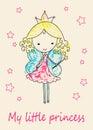 Fairy Tale Princess greeting card
