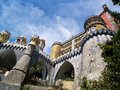 Fairy-tale Sintra palace 3 Stock Photography