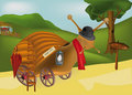 Fairy tale about a snail Royalty Free Stock Photo