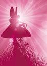 Fairy on toadstool 1 Royalty Free Stock Photo