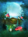 Fairy tree Royalty Free Stock Images