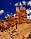 Fairyland Canyon Trail Royalty Free Stock Photo