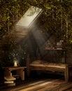 Fairytale attic room