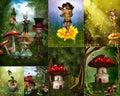 Fairytale collage