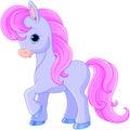 Fairytale pony Royalty Free Stock Photo