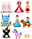 Fairytale set Royalty Free Stock Image